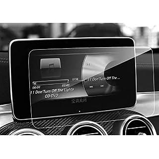 LFOTPP Mercedes GLC/GLC Coupe/C-Klasse/V-Klasse/CLS / AMG 8,4 Zoll Navigation Schutzfolie - 9H Kratzfest Anti-Fingerprint Panzerglas