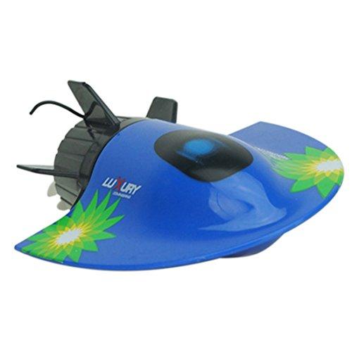 Lommer RC U-Boot, Ferngesteuert U-Boot Unterseeboot RC Rennboot Schnellboot Wasserrennen Spielzeug für Kinder und Erwachsene, 11x8x4CM
