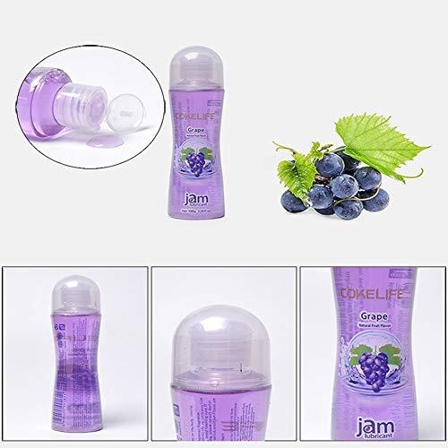 REDAPP Thermal Lubricant, 100g Essbares Fruchtgeschmacksverstärkungsschmiermittel Wasserlösliches Kupplungsschmiermittel Schmiergel Vagina Anal Massageöl Blue Berry - Natürliche Gefühl Nicht Geschmiert Kondome