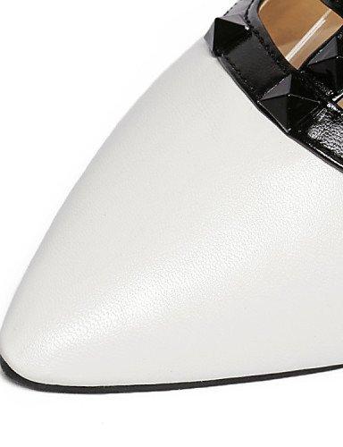 UWSZZ IL Sandali eleganti comfort Scarpe Donna-Ballerine / Sandali-Tempo libero / Formale / Casual-Comoda / Anfibi / Innovativo / Decolleté con cinturino / Alla schiava / White