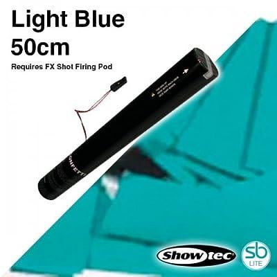 Showtec - FX Shot Confetti Cannons - Light Blue, 50cm