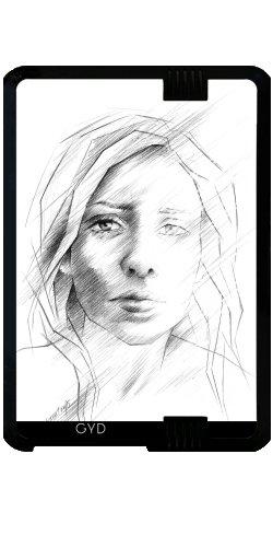 """Custodia per Kindle Fire HD 7"""" (2012 Version) - Che Cosa Se Mi è Stato Giusto? by eDrawings38"""