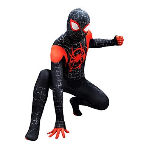 YUNMO Fun Ausrüstung Gedruckt Spiderman Drama Kostüm Spiderman Film Cartoon Cosplay Kostüm Overall (DREI Größen) (Size : XL) (Spiderman-ausrüstung)
