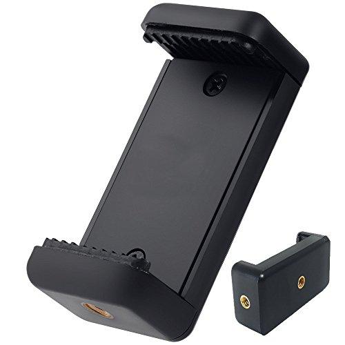 Coolway® Stativ Adapter Aufsatz 1/4 Gewinde für iPhone / Samsung Galaxy / Nexus und mehr Handys Einsatz auf Stativ, Monopod, Selfie Stick, Tabletop Stativ Stand und mehr (Iphone 6 Für 4 Dollar)