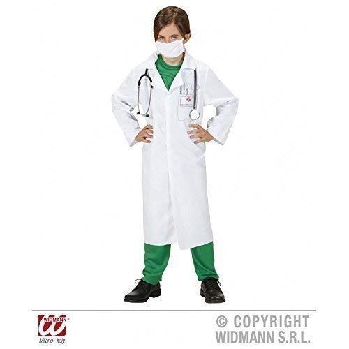 Kostüm Einfach Lebensretter - Lively Moments Einfaches Kinderkostüm Doktorkostüm/Faschingskostüm/Laborkittel für Kinder Gr. 128