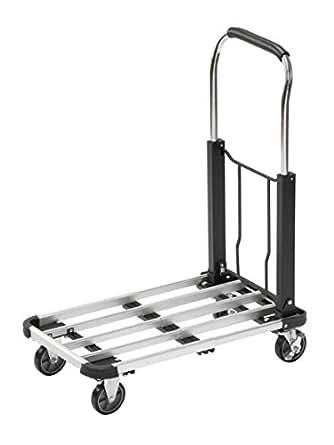 Meister 8985590 carrello per trasporto pieghevole 150 for Amazon carrello portavivande pieghevole