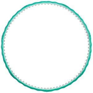 Hoopomania Hula Hoop Reifen mit Magneten & Massagenoppen 0,8/0,95/1,2/1,6/1,8/2,1/2,6/3,1kg