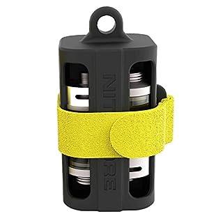 Batteriemagazin NBM40 schwarz für 1-4 Li-ion 18650 Akkus oder E-Liquid-Fläschen und Verdampfer