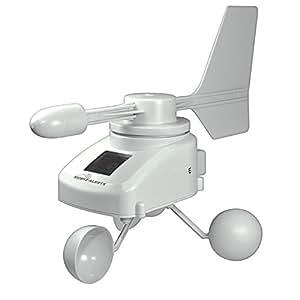 La Crosse Technology - MA10660 Anémomètre solaire connecté - A ajouter au kit de démarrage MA10001
