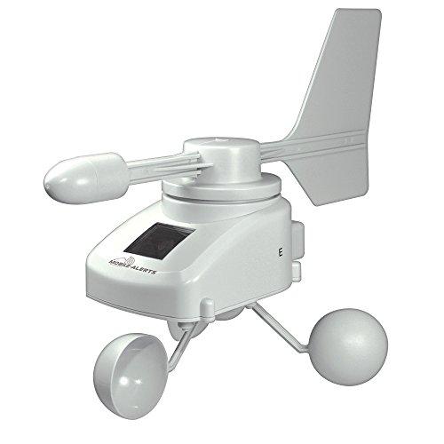 La Crosse Technology MA10660 -Anemómetro Solar conectable, para añadir al Kit de Arranque MA10001...
