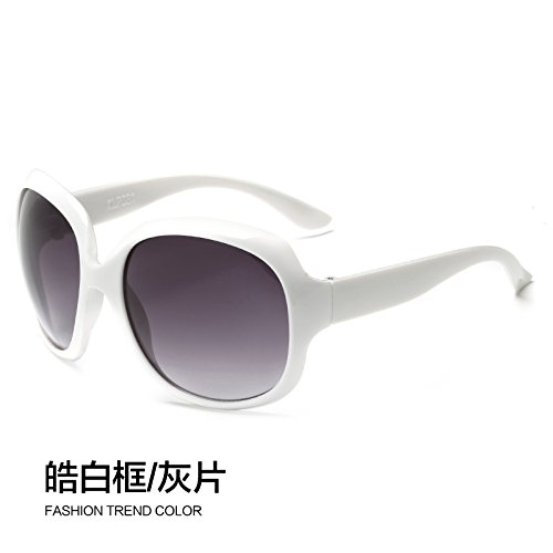 LLZTYJ Sonnenbrillen/Sonnenbrillen Damen Big Box Damen Sonnenbrillen Augen Sonnenbrillen...