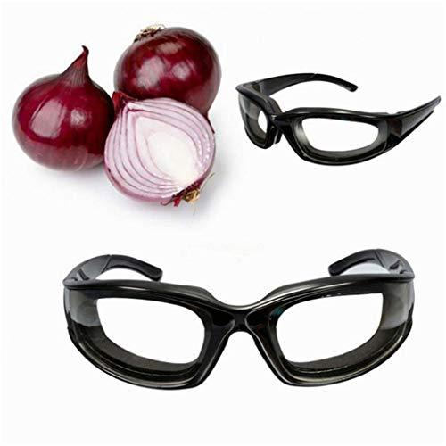 SWQ Gafas Protectoras Cebolla Negra Gafas Sin rasgones