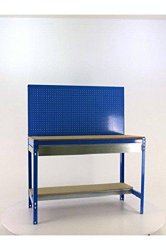 Simonrack BT-2 Box 1200 Werkbank-Set, blau, aus Holz
