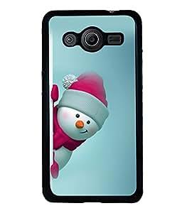 printtech Christmas Tree Hearts Back Case Cover for Samsung Galaxy Core i8262::Samsung Galaxy Core i8260