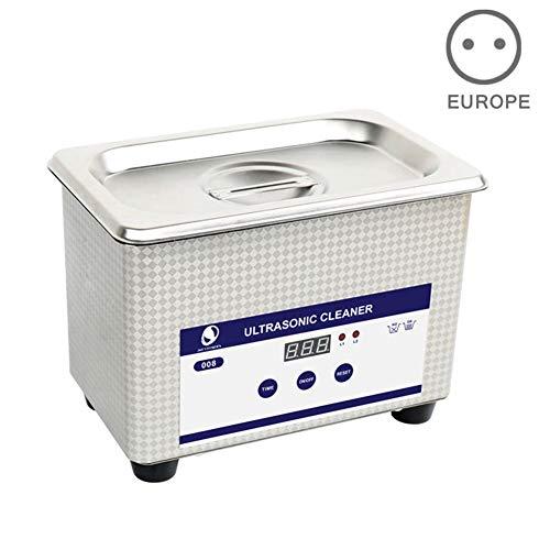 Wellouis - Cestello digitale per pulizia a ultrasuoni EU Plug
