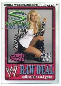 WWE RAW Deal Trish Stratus Starter Deck Kartenspiel