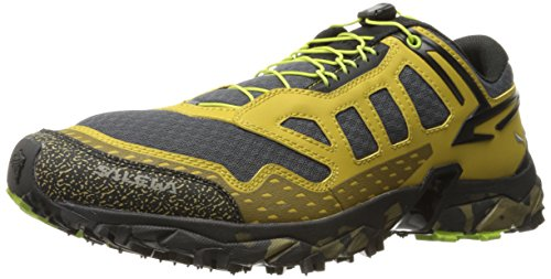 Salewa ULTRA TRAIN - BERGSCHUH HERREN, Herren Outdoor Fitnessschuhe, Gelb (Zion/Monster 8624), 42 EU (8 Herren UK)