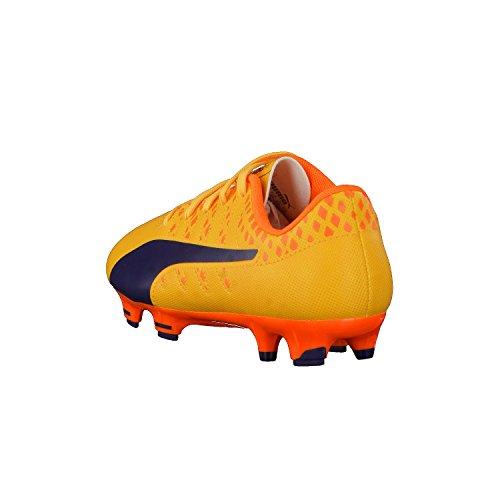 Puma Evopower Vigor 4 Fg Jr, Chaussures de Football Mixte Enfant yellow