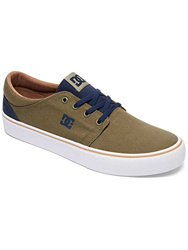 DC Shoes Trase Tx, Baskets mode homme Vert