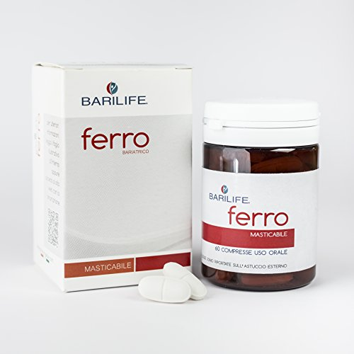 Barilife Ferro | Integratore a base di Ferro microincapsulato, acido Folico, Vitamina C e Rame assicura la maggior efficacia e la massima tollerabilità nei casi di carenza di ferro