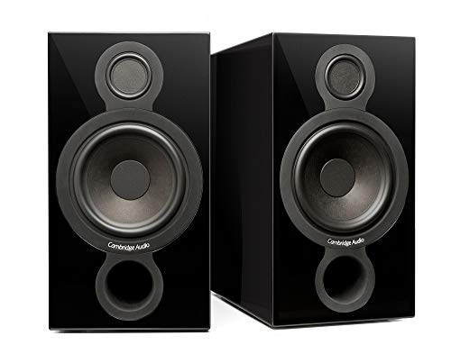 Cambridge Audio AEROMAX 2, Flaggschiff-Standlautsprecher pro Paar (Schwarz)