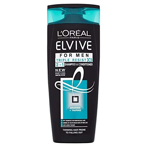 L'Oréal Paris Elvive for Men Triple Resist 2in1 Shampoo & Conditioner 250ml