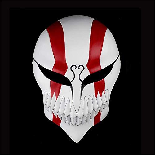 Wsjfc Halloween Mask Harzmaske Clown Horror Erwachsene Half Face/Full Face Masken Dress Up Personality Props Masken, B,D (Full Schwimmen Kostüm)