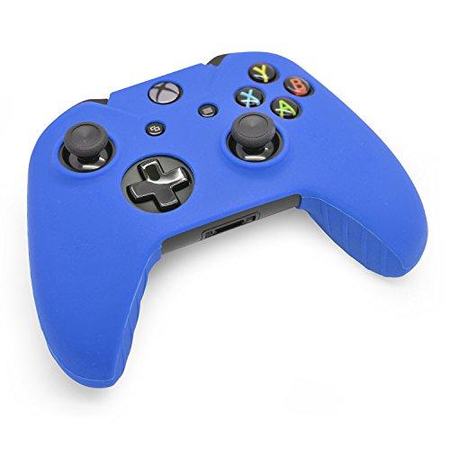 iProtect custodia protettiva in silicone per Skin in blu - Microsoft Xbox One