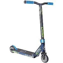 Patinete eléctrico para niños High Roller Crisp Mini Blaster Pro Stunt, Dark Blue Metallic