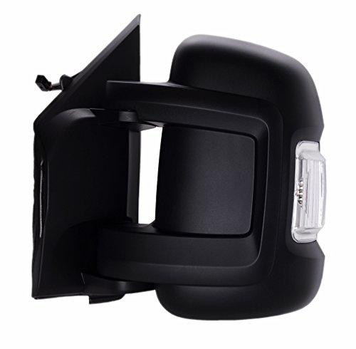 DAPA 1009309 Außenspiegel links elektrisch als Ersatzspiegel für Ihren originalen Spiegel mit Blinker (Boxer Ihr)