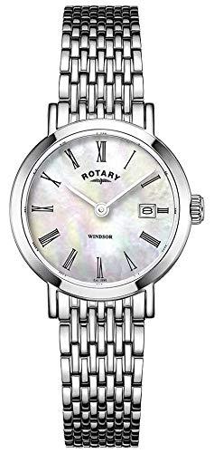 Rotary Orologio da donna in acciaio inossidabile con cinturino LB05300/39