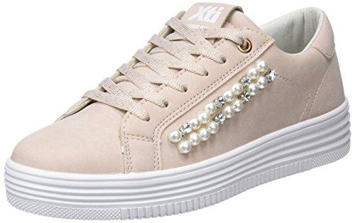 XTI Damen 48041 Sneakers, Pink (Nude), 39 EU