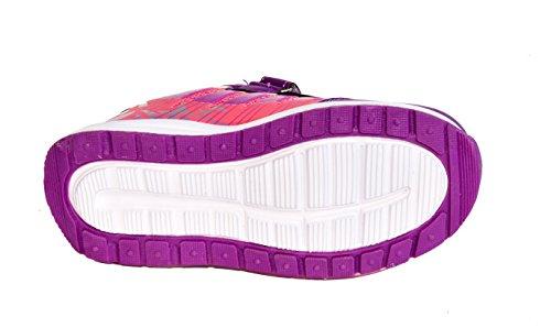 TMY 9508 baskets tendance pour enfant lilas pointure :  25–36 Multicolore - Violet