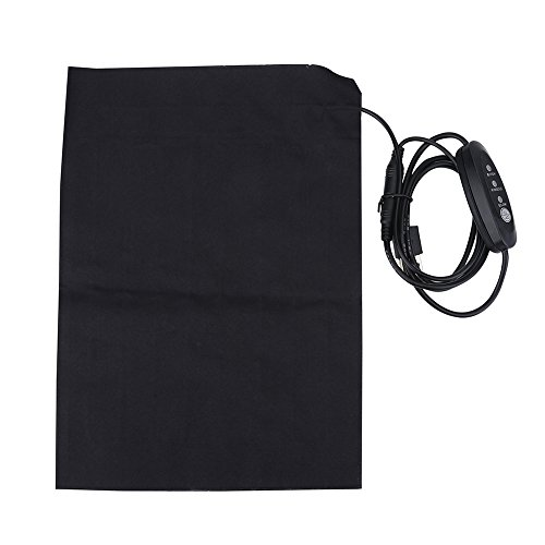 Alomejor Elektrische Heizkissen Ultra-Wide Soft Fabric Heizkissen mit Fast-Heizung Technologie für Outdoor und Indoor-Aktivität -