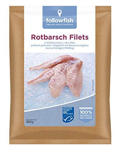 Followfish - Rotbarsch Filets TK - 360g
