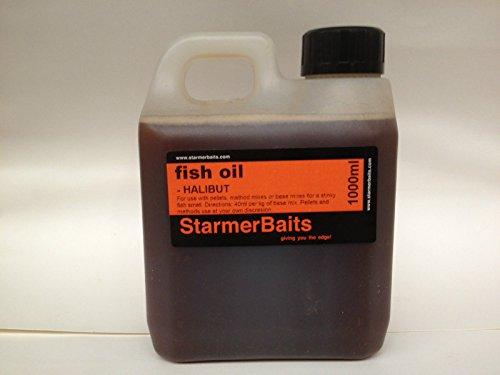 Maisquellöl fürs Angeln - Fischöle, Lachs, Heilbutt, Sardine, Neunauge, Thunfisch, HALIBUT OIL, 1000 ml