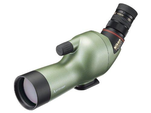 Nikon Spektiv (Fieldscope) ED 50 Angled Beobachtungs-Fernrohr grün perlglanz (ohne Okular)