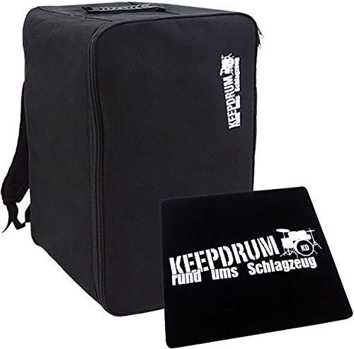 Keepdrum Cajon Rucksack-Tasche + Sitzpad