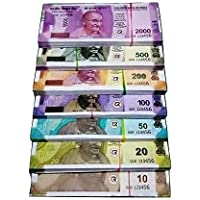 BVM GROUP Dummy Currency Combo (15 Each x 7 = 105 Nakli Note) Playing Indian Currency Notes for Kids Fun Paper Kids…