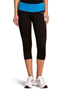 Brooks Women's Infiniti Capri II Short Running Tights - Black/Neptune, X-Small