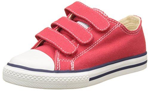Victoria Zapato Basket Velcros, Zapatillas Unisex Niños, Rojo, 31 EU