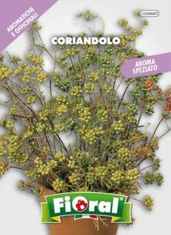 Coriandolo - Busta Sementi Aromatica - L'ortolano Fioral
