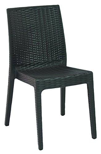 Areta ar012 rattan decorazione espresso selene sedia in plastica