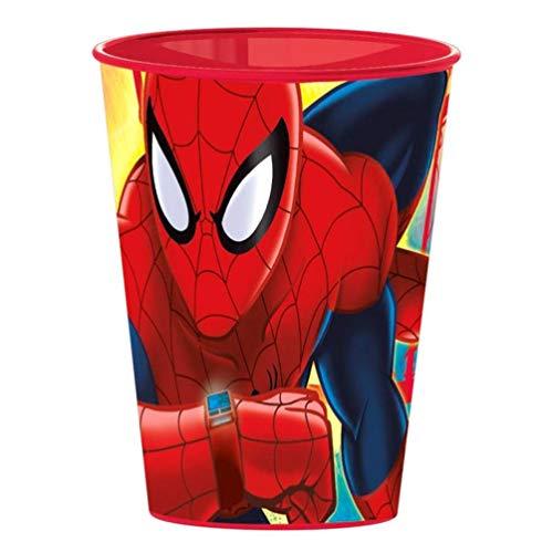Spiderman Vaso plastico pequeño 260 ml (Stor 22407)
