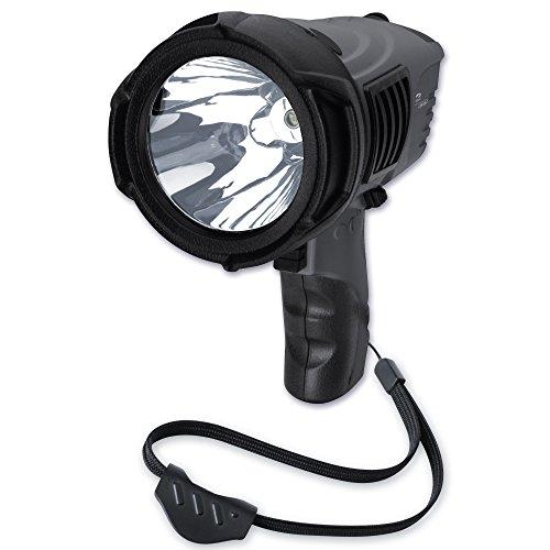 LiteXpress LXSP 102-2 Handscheinwerfer, 1 Cree Hochleistungs-LED, Lichtleistung max. 500 Lumen, Leuchtweite max. 620 Meter und Leuchtdauer max. 81 Stunden - 6