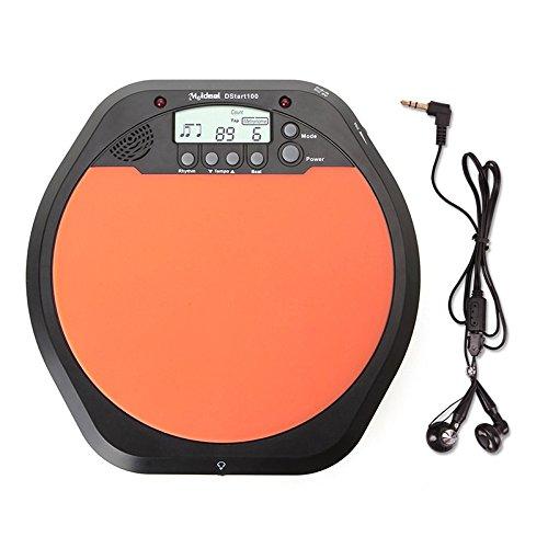 Zophor (TM) di alta qualità digitale elettrico elettronico drum pad per allenamenti metronomo con confezione originale I17prezzo