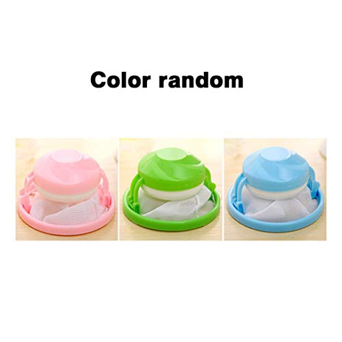 Flower Shape Mesh Filter Bag Laundry Ball Floating Style Washing Machine Filtration Hair Removal Device House Cleaning Tools -