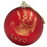Baby Art My Christmas Fairy, Handabdruck Weihnachtsdekorationsset, 0M+, 10cm, Rot