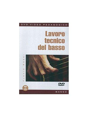 Flavio Rossi: Lavoro Tecnico Del Basso (Libro/DVD). Pour Guitare Basse