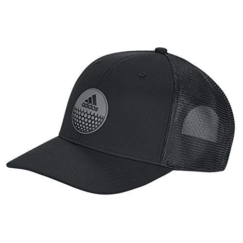 adidas Herren Globe Trucker Hat Baseball Cap, Schwarz (Negro Dt2187), One Size (Herstellergröße: Unica)